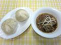 あんまん・肉まん・春雨の中華スープ
