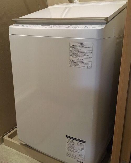 縦型洗濯乾燥機TOSHIBAのAW-10SV6