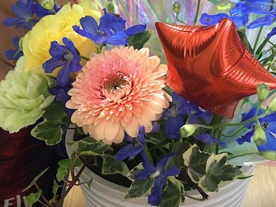 入学祝いのお花