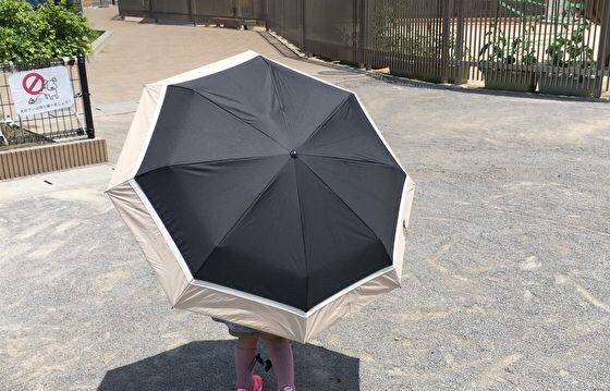 芦屋ロサブラン遮光100%日傘
