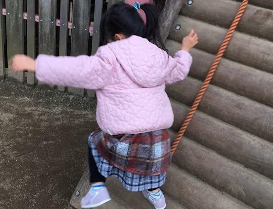 娘と公園あそび