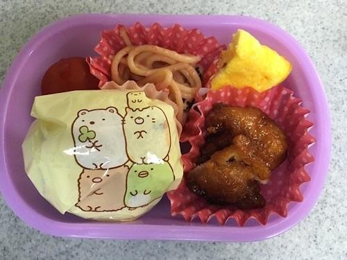 幼稚園生のシンプルママ弁当