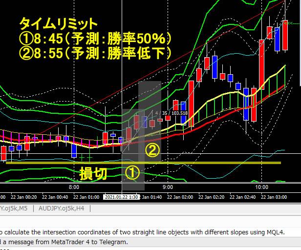ドル円FX 2021年1月22日