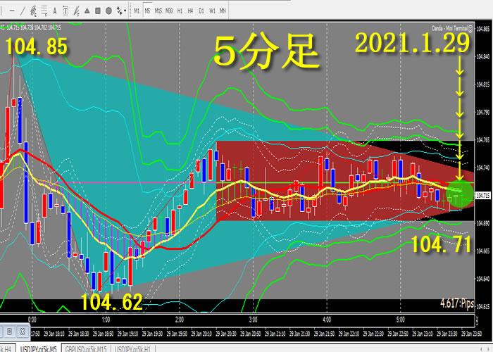 2021.1.29 ドル円 最終