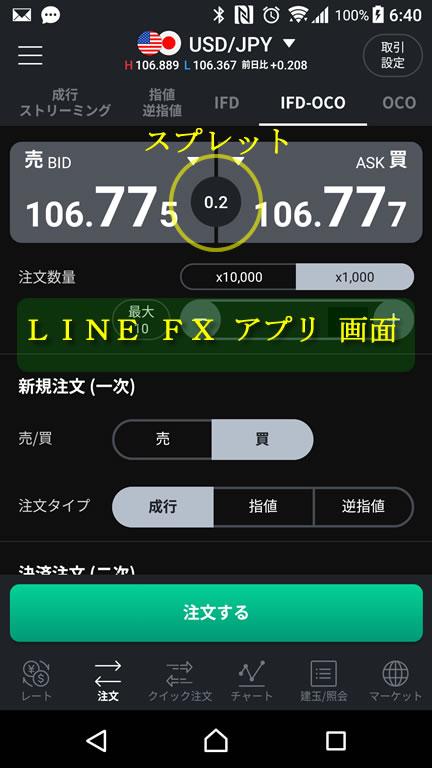 LINE-FX アプリ