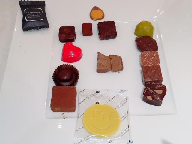 有名チョコレートのオンパレード!