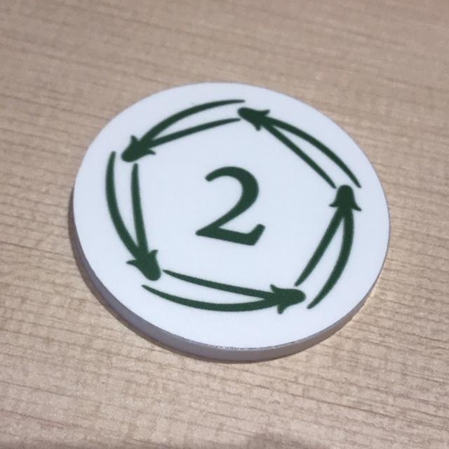 商品提供までに時間がかかる時は番号札を貰います
