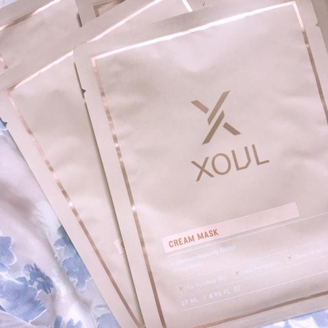 XOUL クリームマスク(5枚入り)