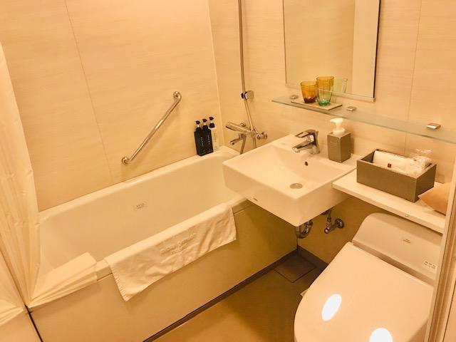 モデレートツインのバスルーム