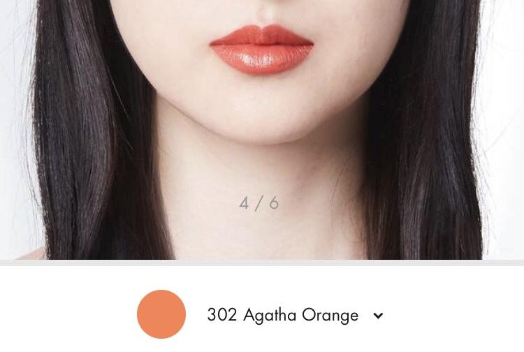 302 Agatha Orange