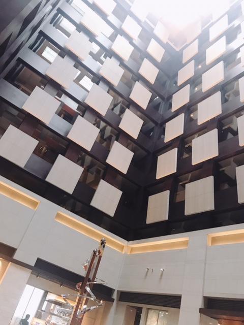 メトロポリタンホテル丸の内のロビー