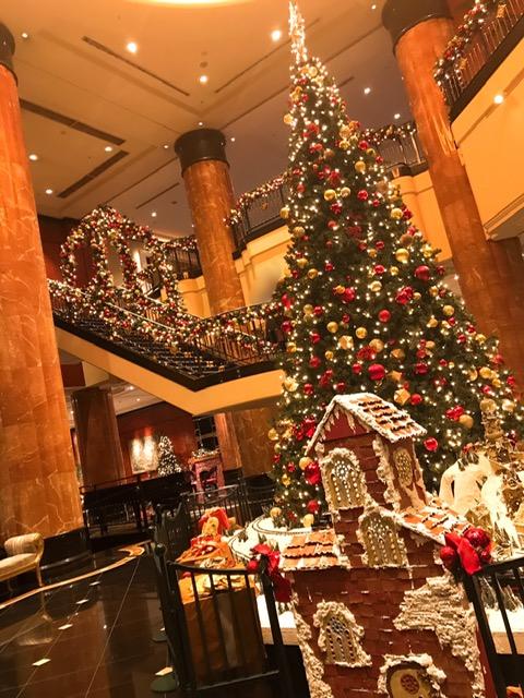 ウェスティンホテル東京のクリスマスツリー(2020)