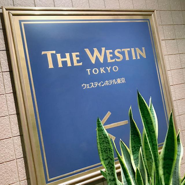 地下道からのウェスティンホテル東京の入口