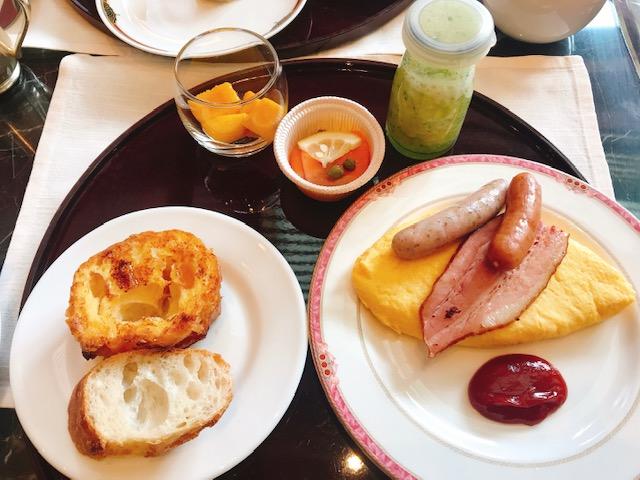 ザ・テラスの朝食で最初に取ったお料理たち