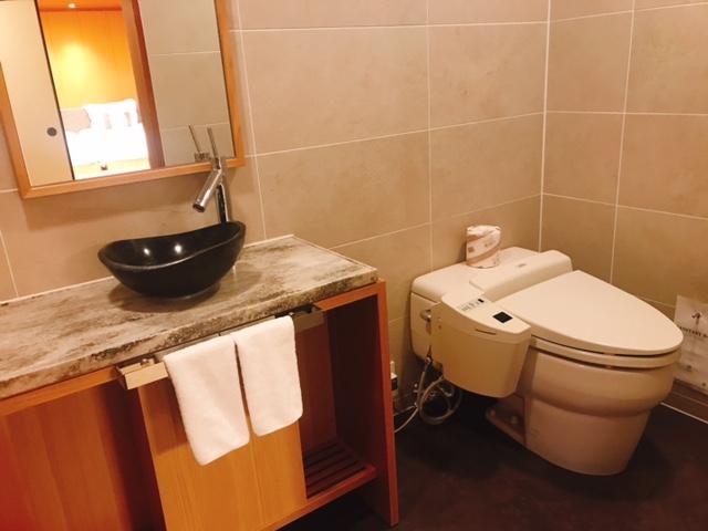 高輪 花香路:和室Bのお手洗い