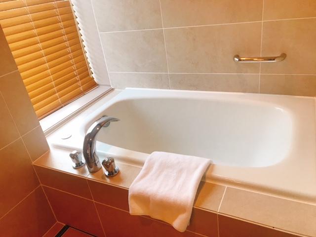 高輪 花香路:和室Bの浴室