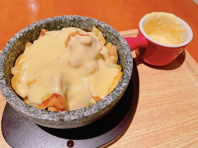 チーズレストラン「リコッタ」チーズタッカルビ丼