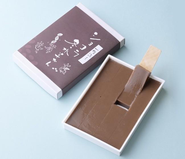 日本橋三越本店限定〈菓寮 福ノ和〉一枚流し ショコラ冬水羊かん