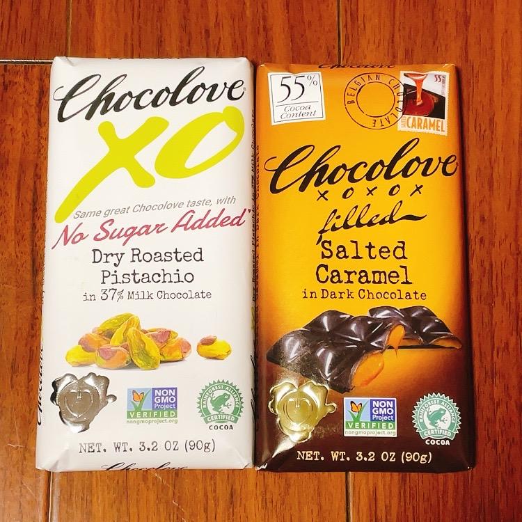 chocoloveのチョコレートを2種類