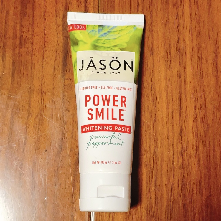 Jason Natural, パワースマイル ホワイトニングペースト