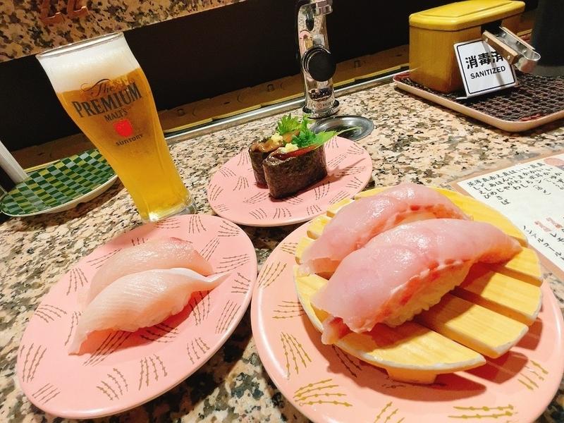 回転寿司 根室花まる ファーストオーダー