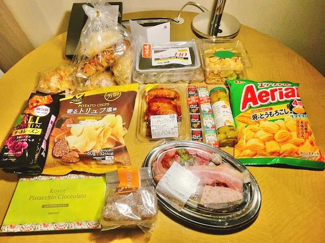 東京マリオットホテルで部屋飲み