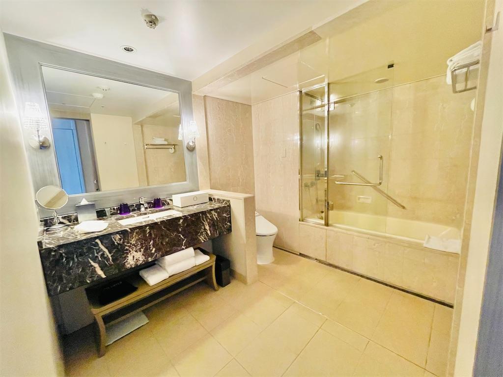 東京マリオットホテル デラックスツインのバスルーム
