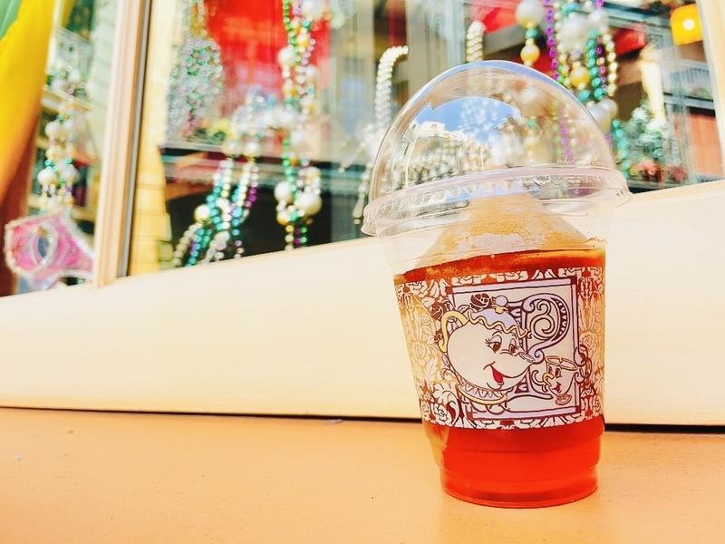 カフェ・オーリンズの「紅茶スムージー」