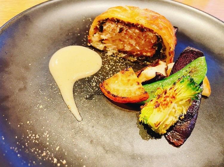 桜鱒のパイ包み焼き