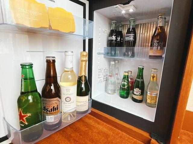 ザ・ペニンシュラ東京 デラックスツイン:冷蔵庫