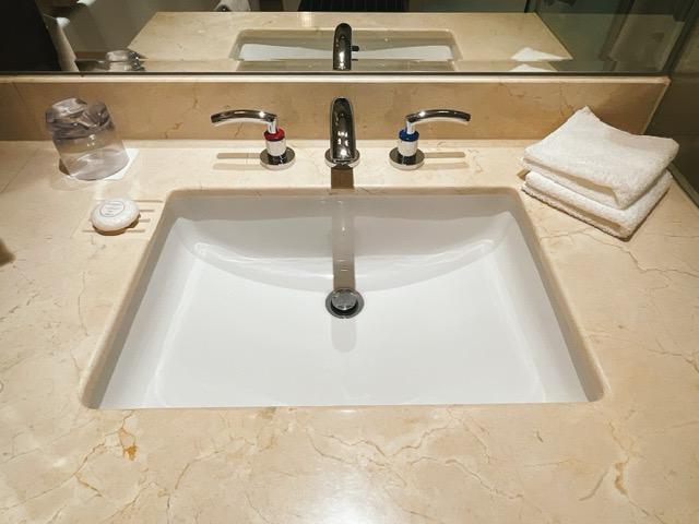 ザ・ペニンシュラ東京 デラックスツイン:洗面台