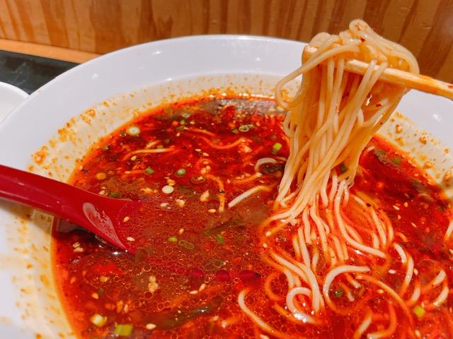 トゥーランドット 臥龍居の「辣香担々麺」