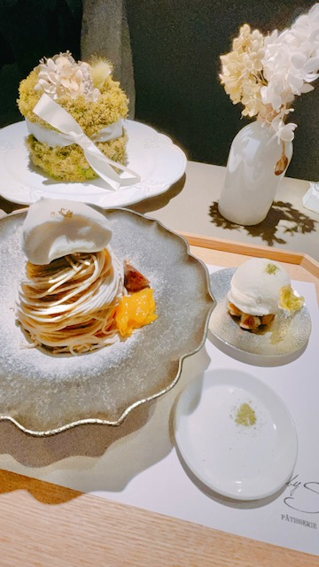「PATISSERIE Salon by S 」カウンター席