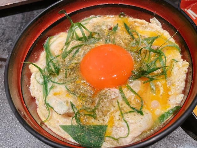 「鶏味座」山椒親子丼