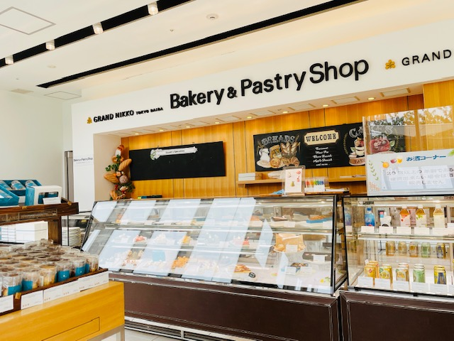 「Bakery & Pastry Shop」店内の様子
