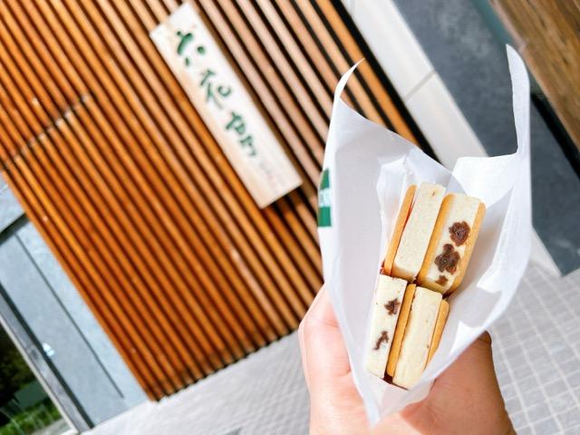 「六花亭 札幌本店」マルセイアイスサンド