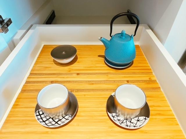 「ザ・プリンスギャラリー東京紀尾井町」日本茶用の一式