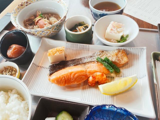 「WASHOKU 蒼天」の朝食(和定食)