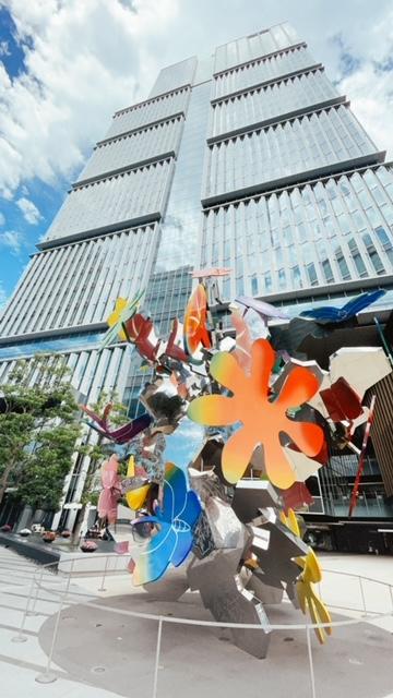 「ザ・プリンスギャラリー東京紀尾井町」建物のエントランス