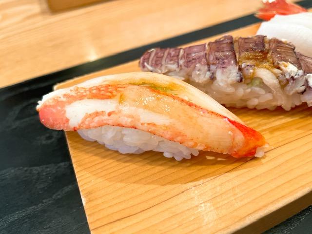 「伊勢鮨」ズワイ蟹