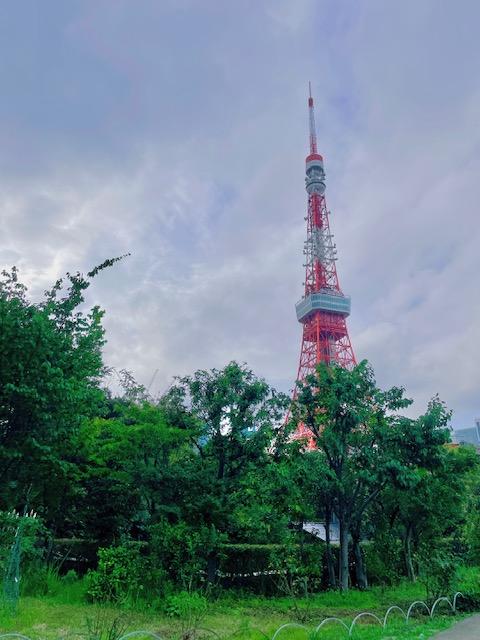 プリンス芝公園から見た東京タワー