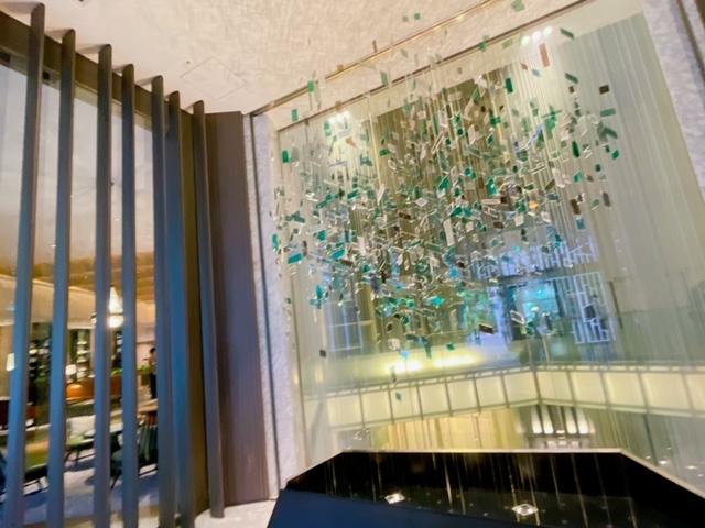 「ザ・プリンスパークタワー東京」1階エントランス