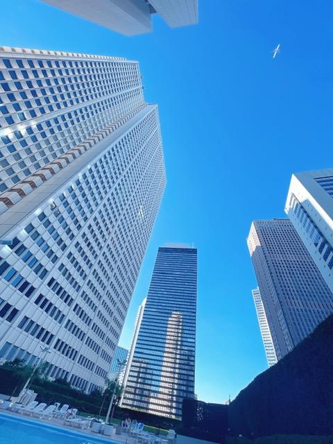 「京王プラザホテル」本館7階のスカイプール