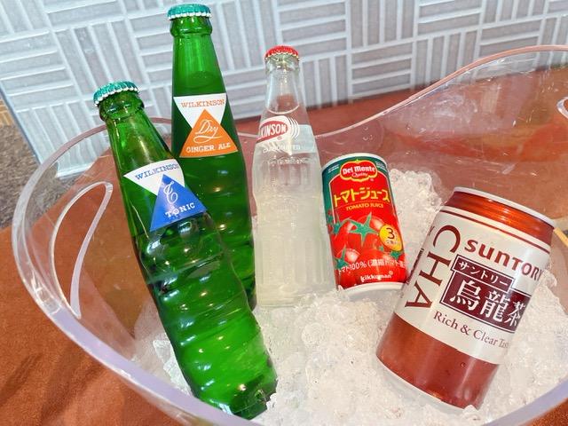 「京王プラザホテル」アルコール提供ができないクラブラウンジでのカクテルタイム②