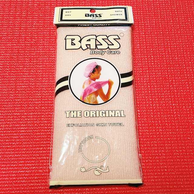 Bass Brushes, ボディケア、角質除去オリジナルスキンタオル