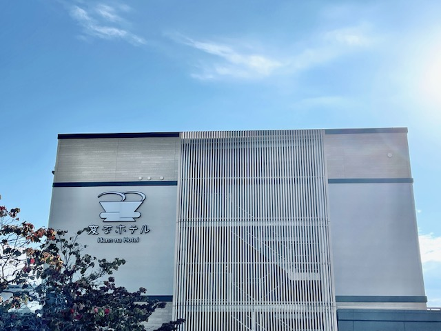 「変なホテル 小松駅前」外観
