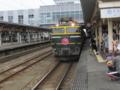 トワイライトエクスプレス 高岡駅にて