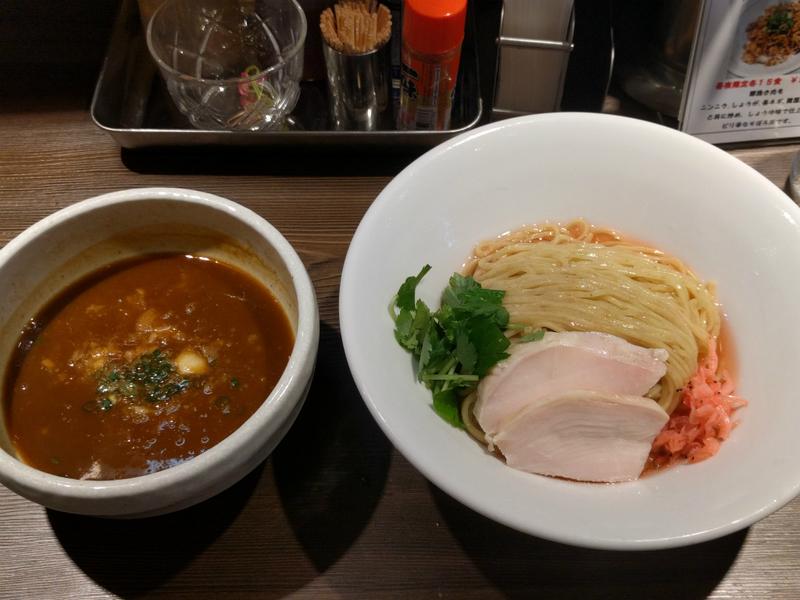 エビ細つけ麺