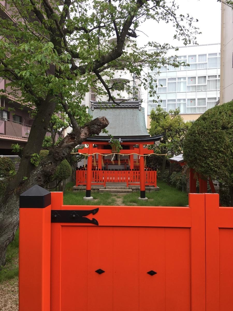 京阪稲荷神社,都山流尺八発祥の地