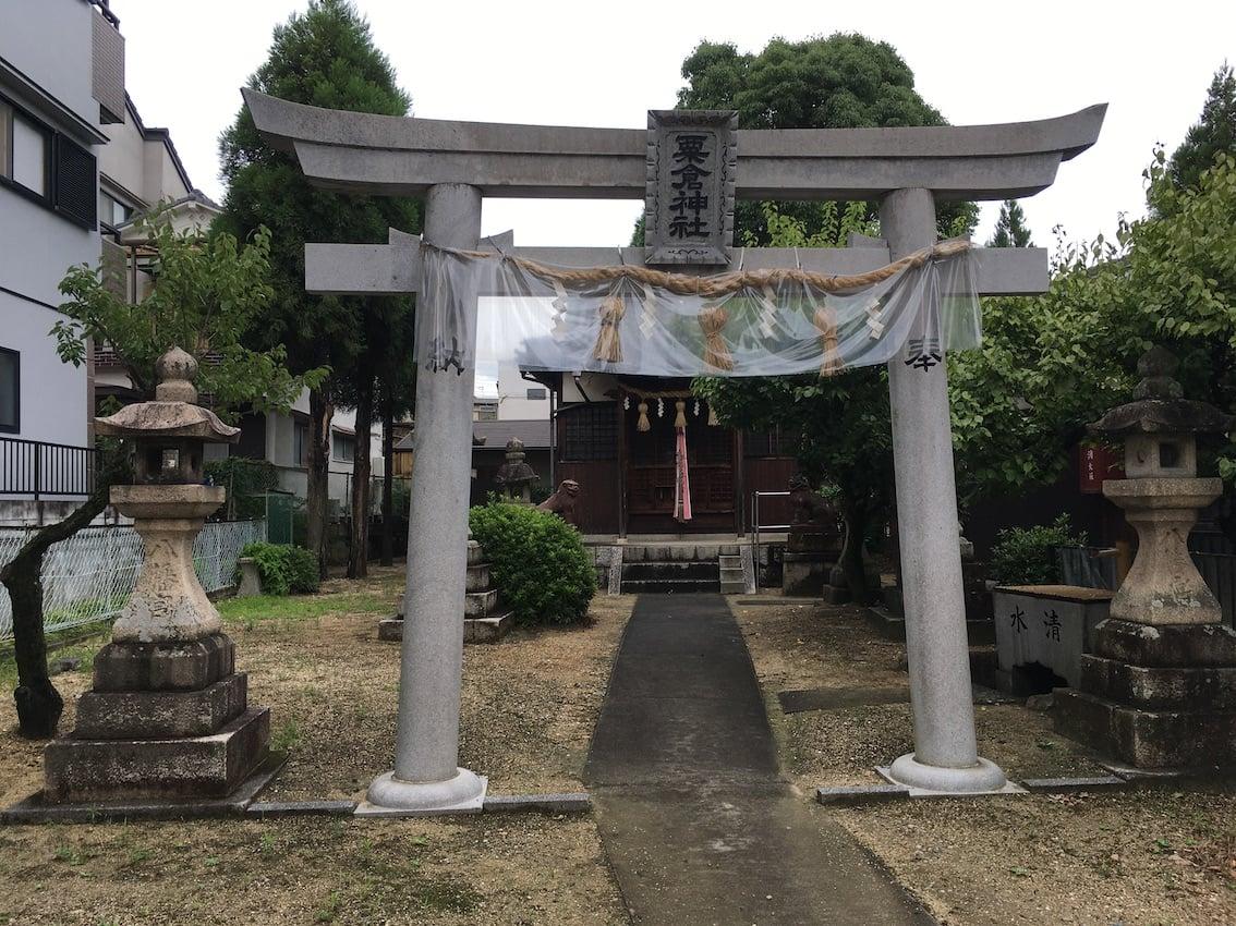 粟倉神社,枚方の神社
